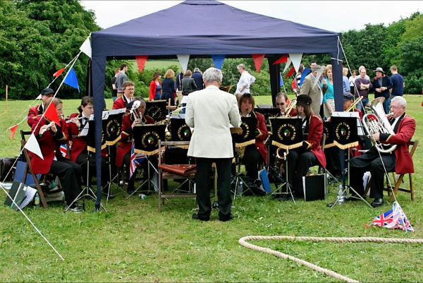 Jubilee Fete, Kington St Michael, June 2012