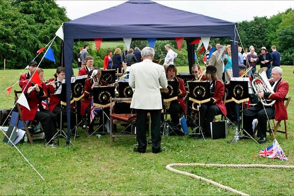 Jubilee Fete, Kington St Michael, June 2012