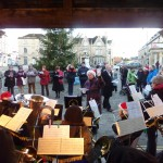Christmas Carols in Chippenham, December 2011